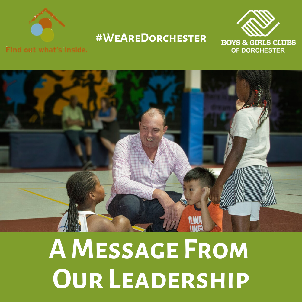 Dorchester message for families