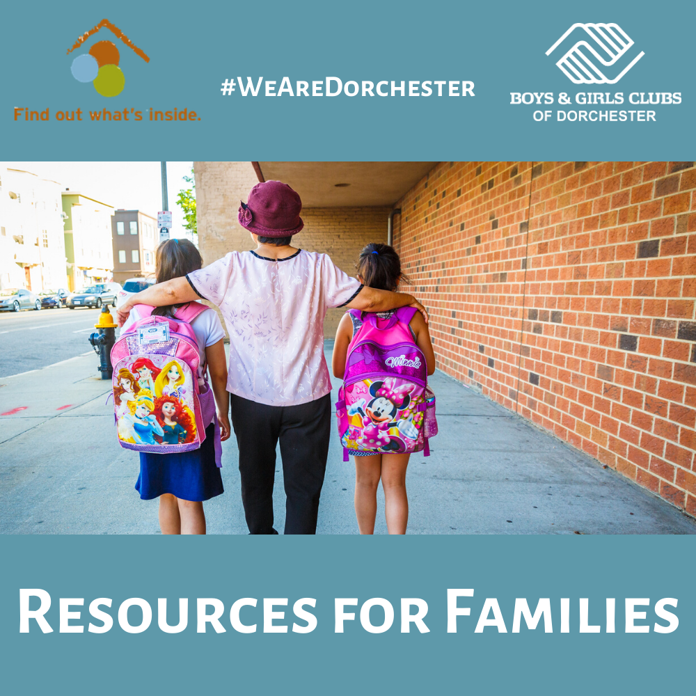 Resources for Dorchester Families
